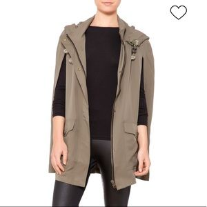 PPLA Hooded Cape in Army Green